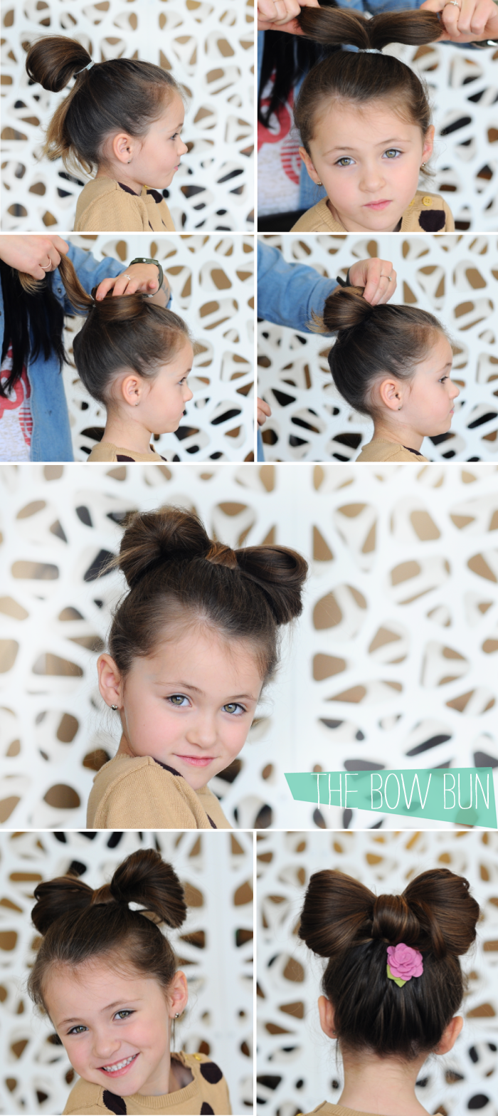 Easy hair tutorials for little gals a ladybug miracle