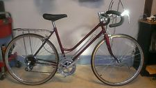 Nos New 80 S Kent Nottingham 10 Spd Bicycle W Rack Frame Pump 0 Miles On It Bicicletas
