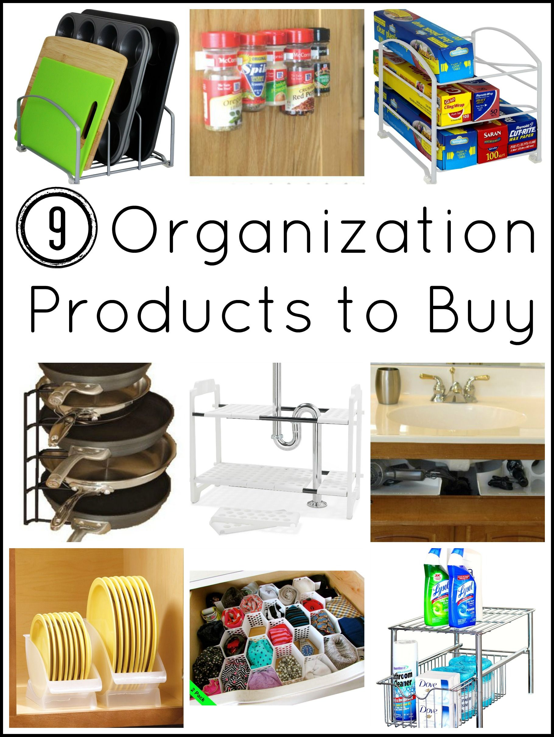 Tons Of Ideas On Organization Products To For Your Home I Have Never Even Heard Some These