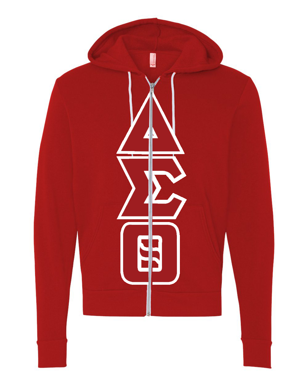 Delta Sigma Theta Mega-Greek Zip Up