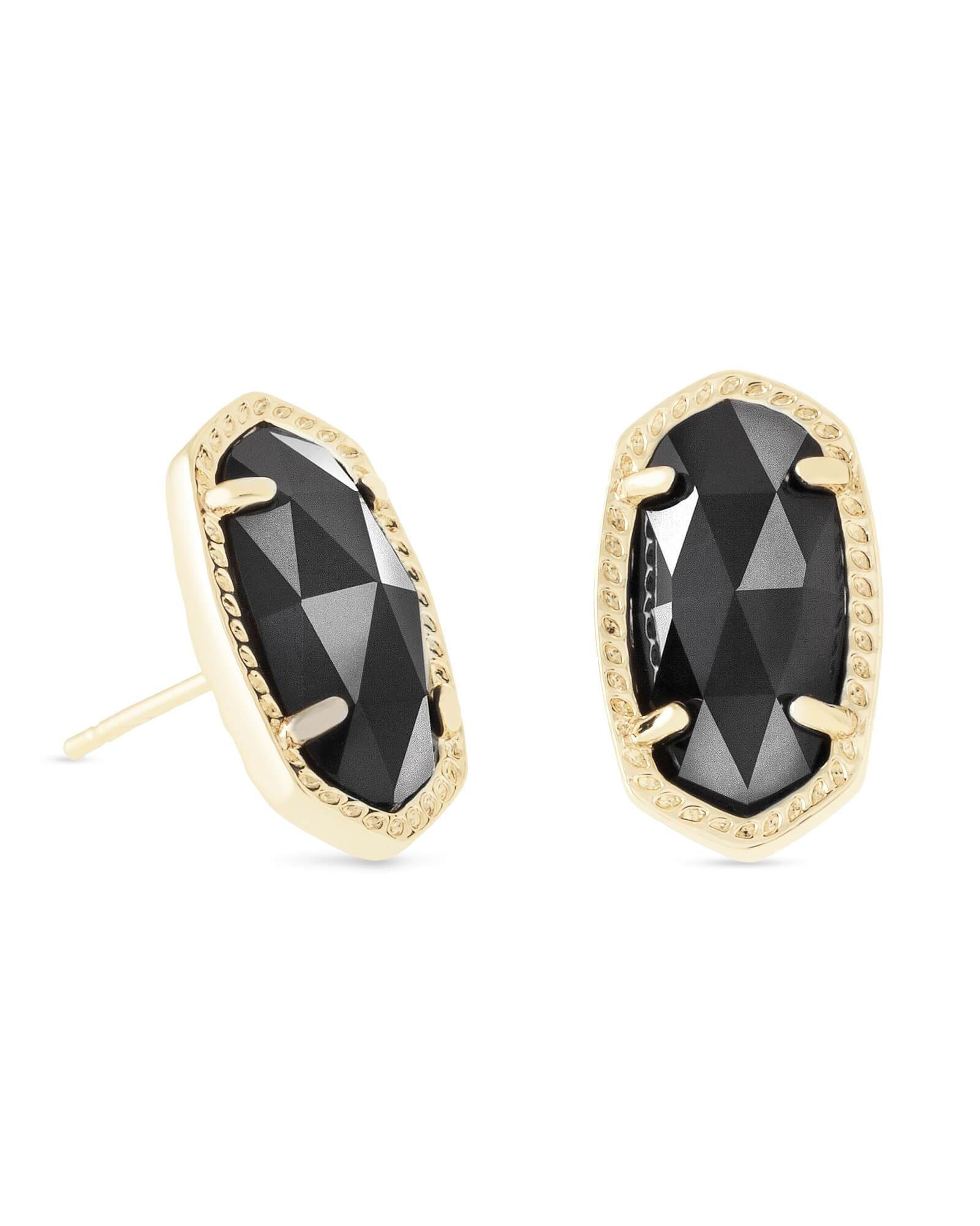 f439f80db Kendra Scott Ellie Earring - Spark a conversation with these stud earrings,  a petite take on Kendra's classic oval silhouette framed in delicate  metallic ...