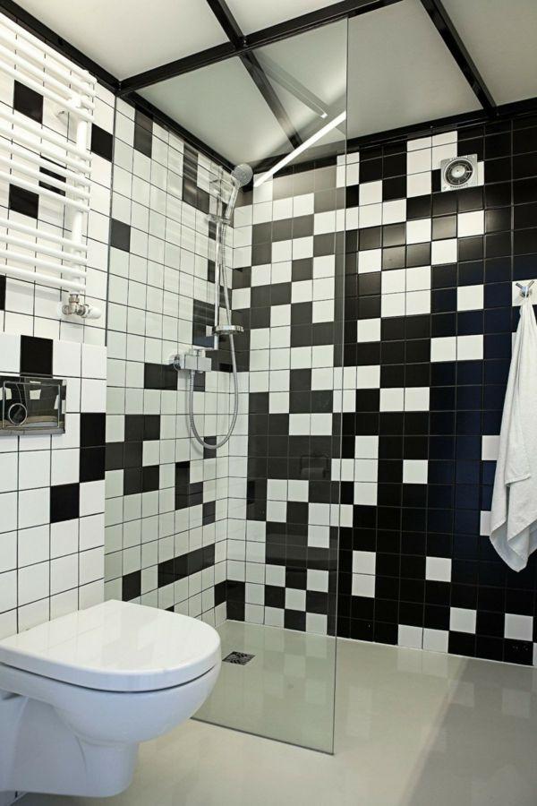 weiße fliesen fliesenfarbe badezimmer fliesen ideen bad-Ideen - badezimmer fliesen reinigen