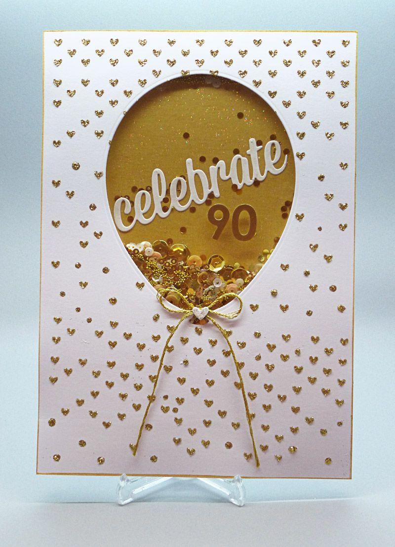 My Card Attic Mum's 90th Birthday Bash Old birthday