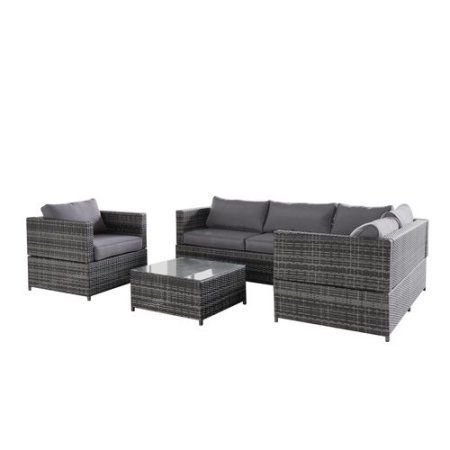 Outstanding Magari Outdoor Furniture Sj 15125 Complete 4 Pieces Pe Home Interior And Landscaping Ologienasavecom
