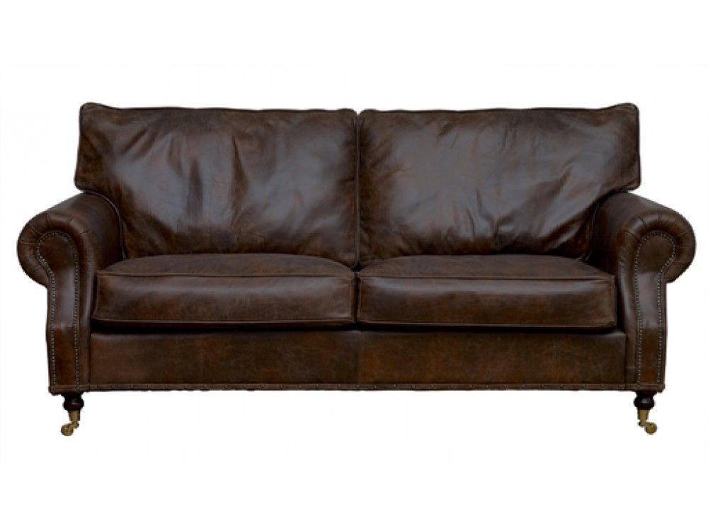 Best The Arlington Vintage Leather Range From The English Sofa 400 x 300