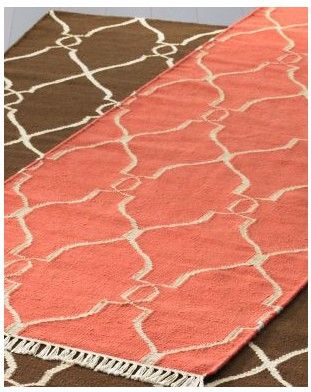 coral colored rug. Bogart Dhurrie Rug In Coral Find It At Garnet Hill. Colored R