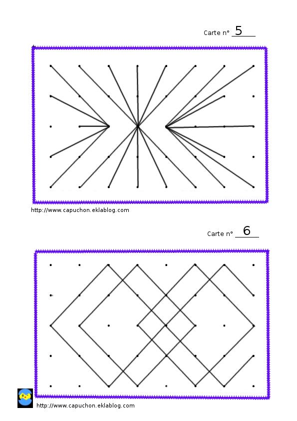 Reproduction De Figures Geometrie Maths Cm2 Classe Ce2