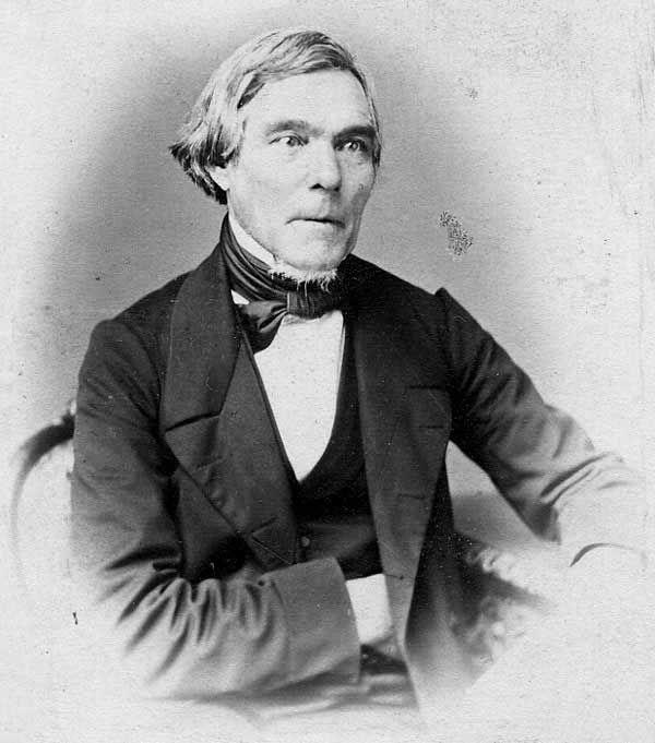 Elias Lönnrot toimi suomen kielen professorina 1854-1862.