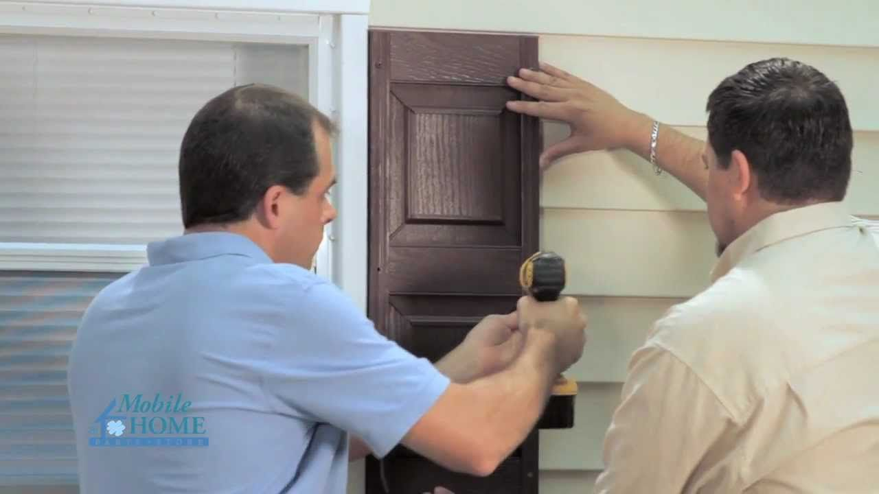 DIY How to Install Exterior Shutters with s | Mobile ... Mobilehomepartsstore on vehicle parts store, service store, wood store, house parts store, photography store, lumber store, mobile clothing store, tobacco store, medical supplies store, truck parts store, car parts store, office supplies store, rv parts store, locksmith store, florist store, construction store, atv parts store, auto parts store, plumbing store, party supplies store,