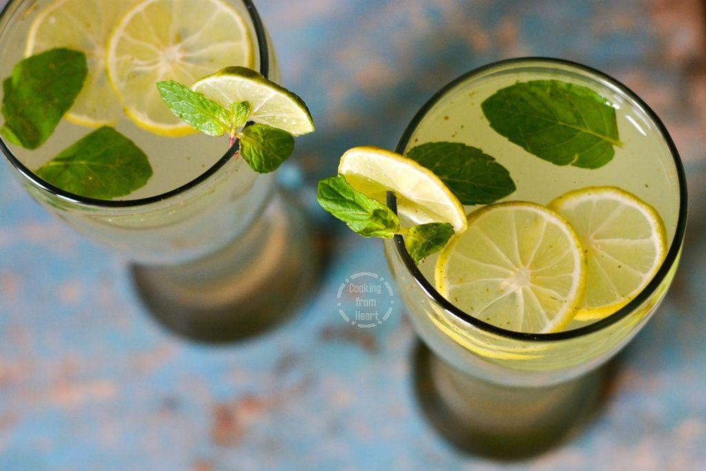 Lemon Mojito Cooking From Heart Recipe Mojito Mojito Drink Nonalcoholic Party Drinks