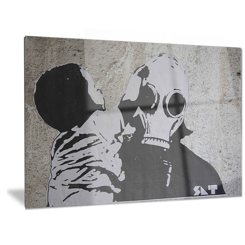 Designart unuclear graffitiu street art metal wall art streetart
