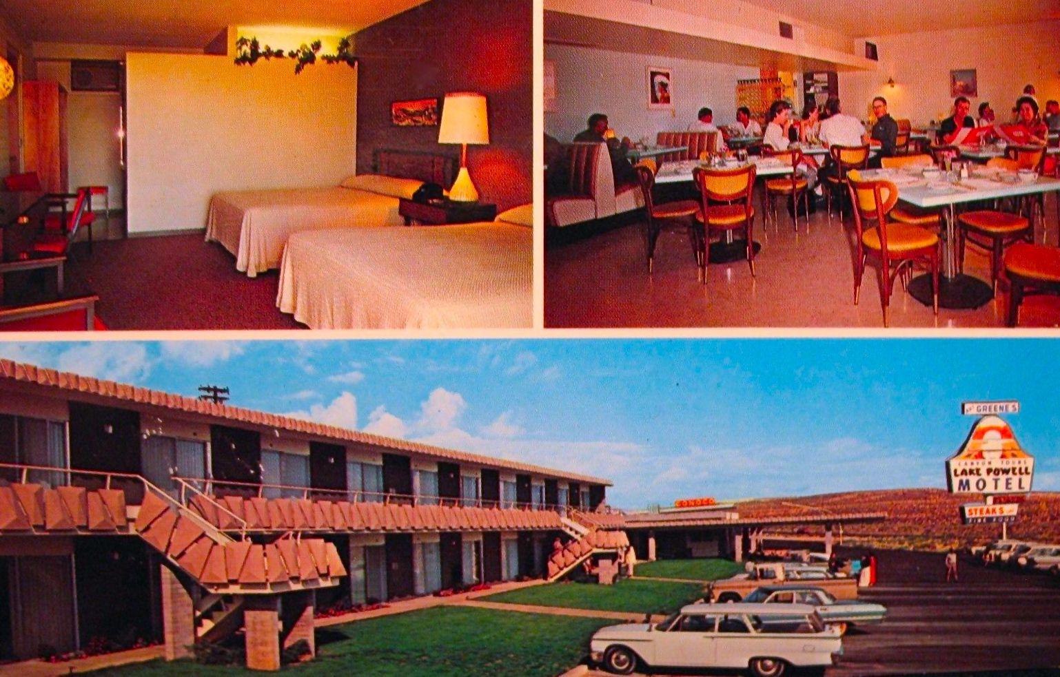 1961 Ford Station Wagon Lake Powell Motel Page Arizona