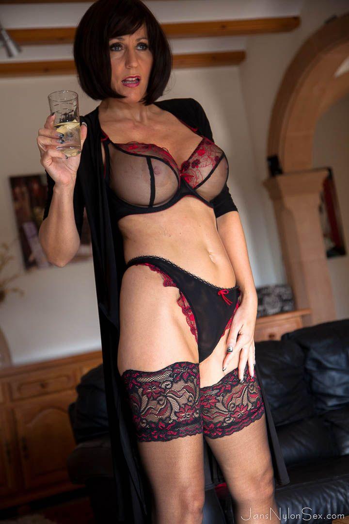 busty classy porn star stocking