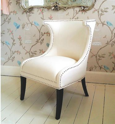 Mayfair Ivory Chair from The French Bedroom Company Caught my eye