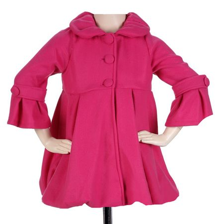 Pink Winter Coats For Girls | Down Coat
