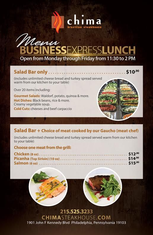 A Kitchen Is Launching An Express Lunch Service: *Business Express Lunch* Join Us For Our Special Lunch