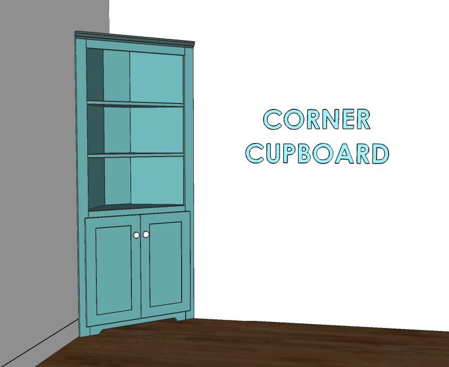 Best Corner Cupboard Corner Cupboard Diy Cupboards Diy Cabinets 400 x 300