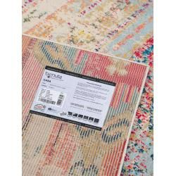 benuta Teppich Casa Türkis 200×290 cm – Vintage Teppich im Used-Look benuta