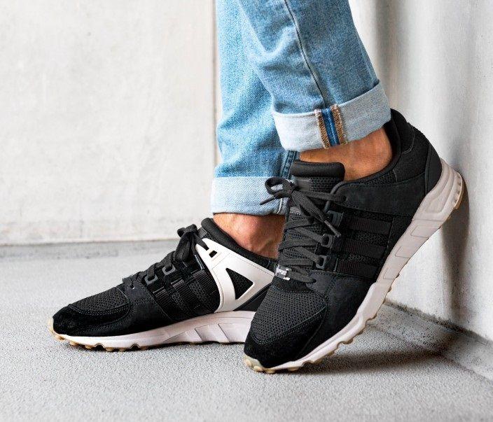 online retailer 3df46 33003 Adidas Equipment Support RF Black Chalk White Shoes