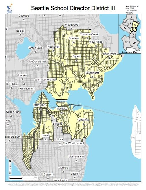 Seattle School District III click picture for interactive map