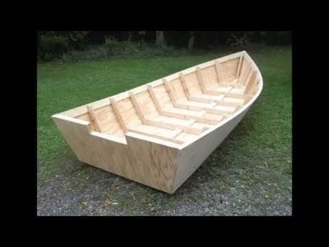 Wood Boat Plans Stitch & Glue - Large Wooden Boat Building   boats to build   Pinterest   Wooden ...