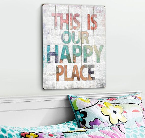This Is Our Happy Place by Misty Diller by MistyMichelleDesign