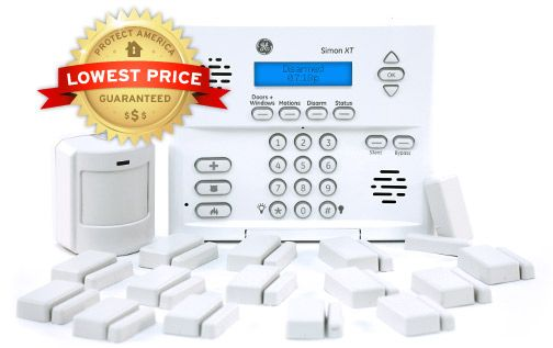 Ge Wireless Home Security System Platinum Security Package Diy Home Security Wireless Home Security Systems Wireless Home Security