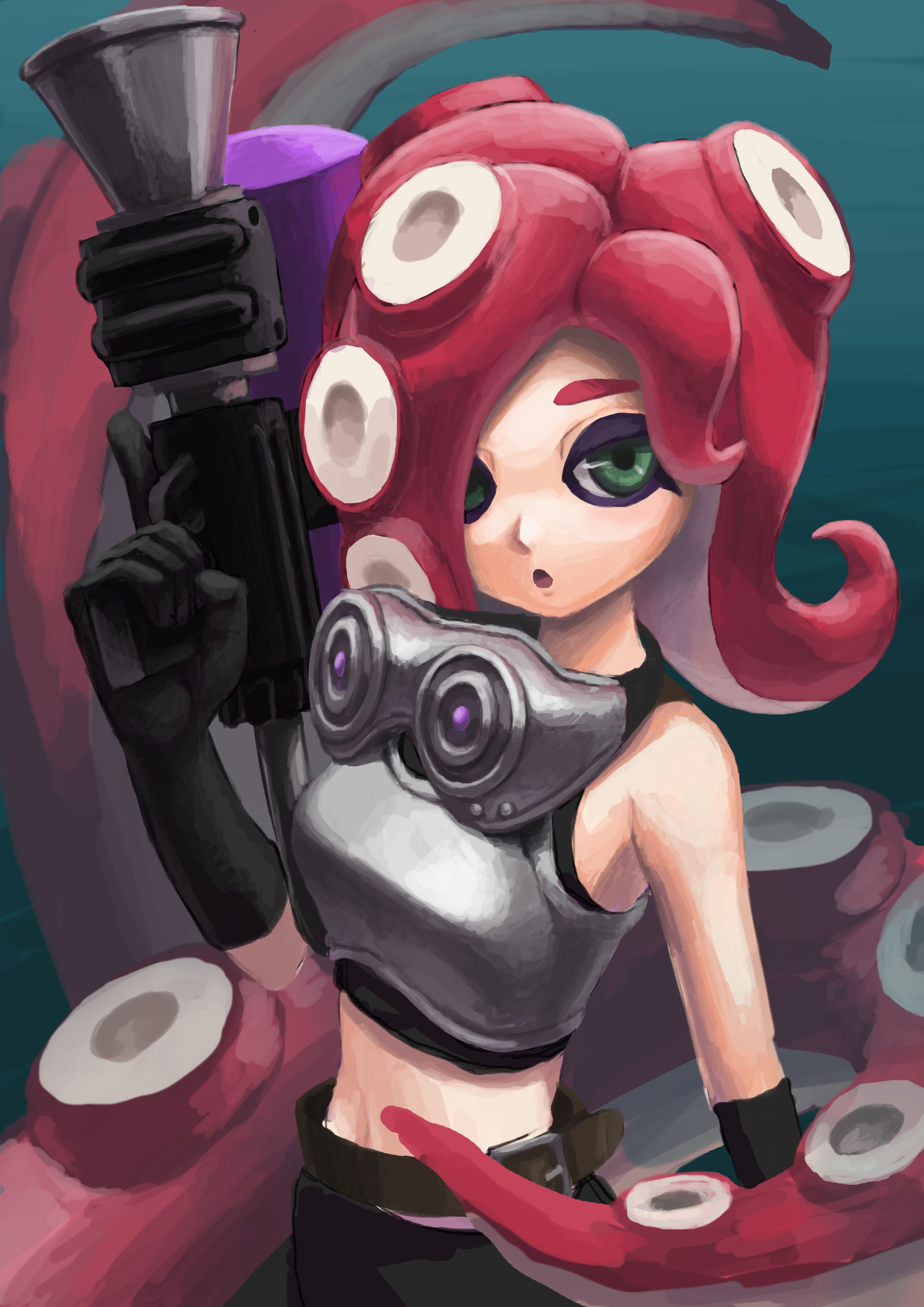 Octoling Gameing Pinterest Games Video Game Art And Splatoon