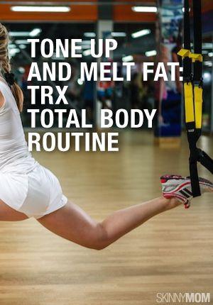 rock hard total body trx workout  trx workouts total