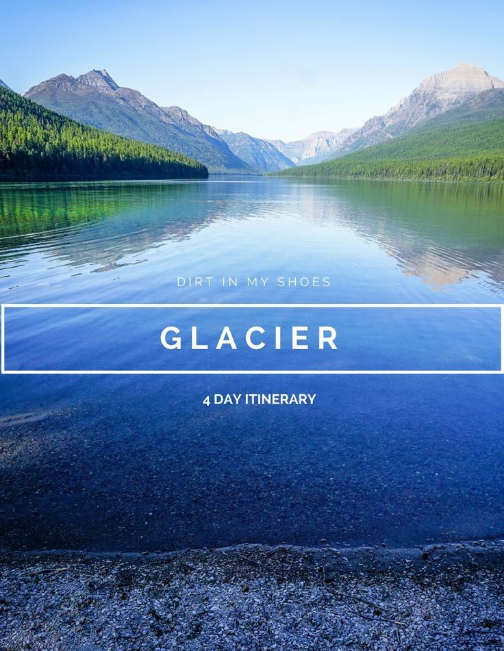 Photo of Glacier National Park Reiseroute