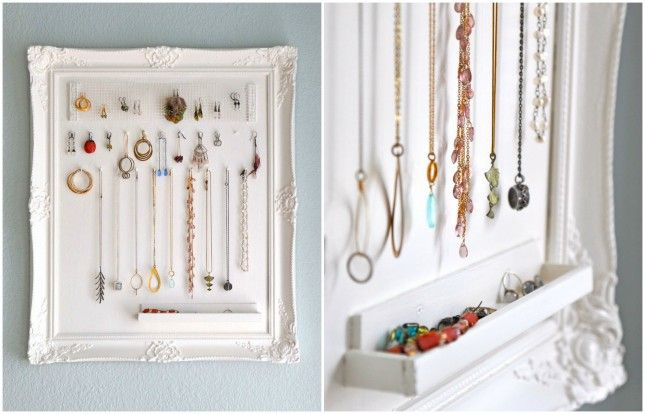 22 Picture Perfect Ways To Repurpose A Frame Via Brit Co Hanging