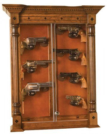 Wall Display Antique Guns | wall display pistol display with base ...