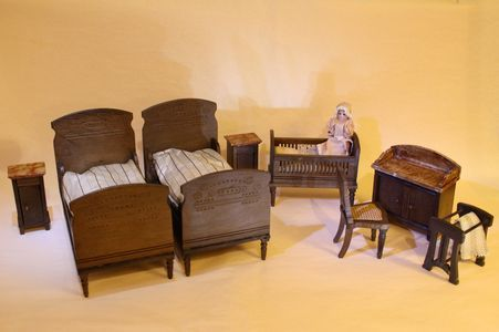 Dolls house bedroom set Puppenstuben & -häuser