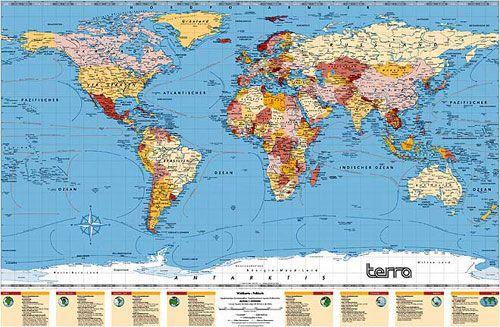 Carte Du Monde Détaillée carte du monde détaillé | popkensburg