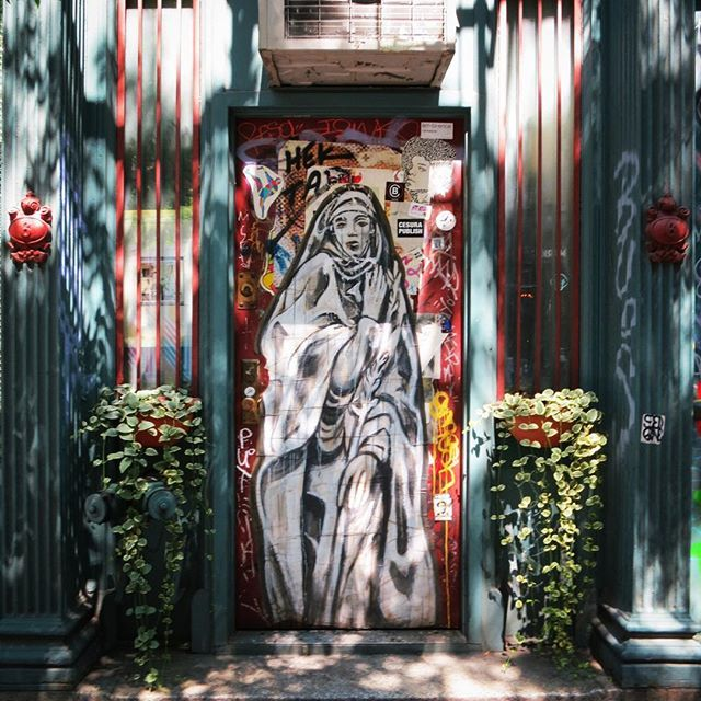 Sublime #streetart #graffiti @hektad._official #pasteups #wheatpaste #visions #eastvillage #lowereastside #les #nyc