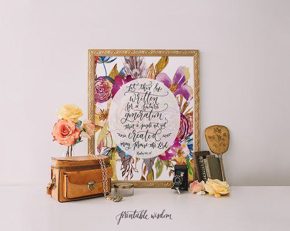 image relating to Printable Wisdom referred to as Printable Knowledge Bible verse print Psalm 108:18, Hand