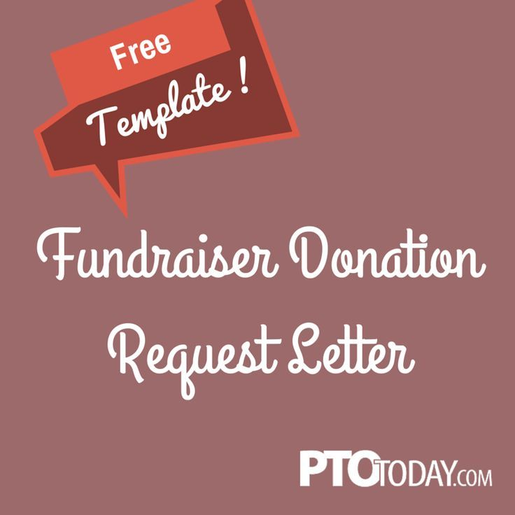 Use The Fundraiser Donation Request Letter On Our File Exchange To
