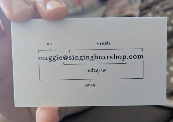 The back of this business card is part of Graphic design business card, Marketing business card, Business card design creative, Business cards layout, Business card branding, Business cards creative - More memes, funny videos and pics on 9GAG