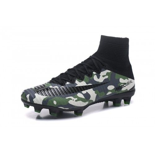 d9a6da175f26 Nike Mercurial - Best 2018 Nike Mercurial Superfly V FG Green Black Camo  Soccer Shoes Outlet