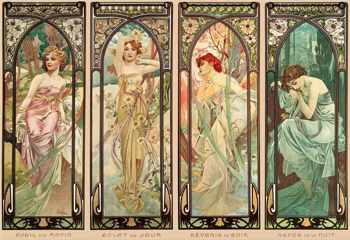 Mucha: The Times of the Day