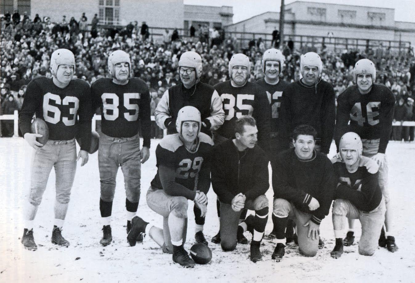 Packerville U S A Old Timer S Game 1949 Green Bay Packers Team Green Bay Packers Fans Green Bay Packers Vintage