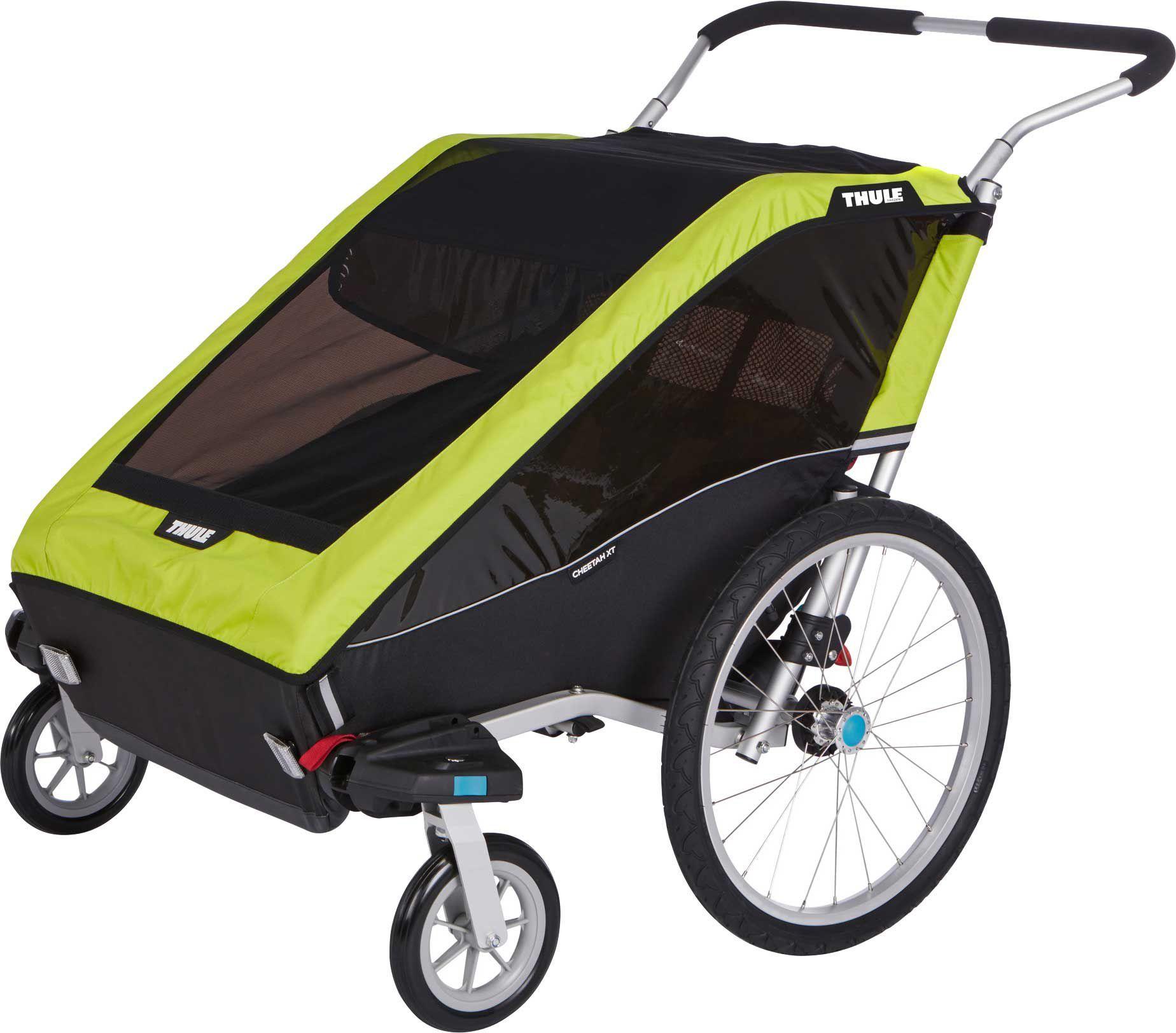 Thule Chariot Cheetah XT 2 Double Bike Trailer and ...