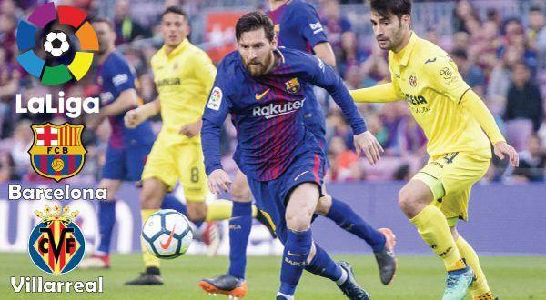 Barcelona vs Villarreal | Live football match, Live soccer ...