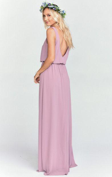 66a7c722ad7 Kendall Maxi Dress ~ Antique Rose Chiffon