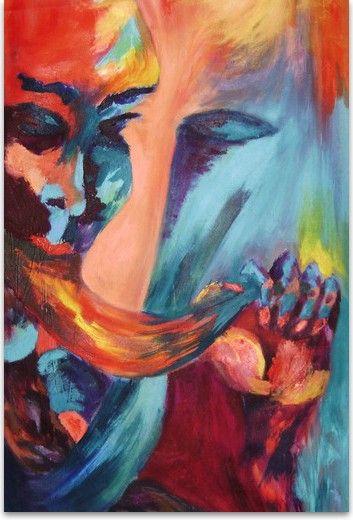 """Rosa Maza. Galería: """"Emociones""""/ Título: """"Metamorfosis"""""""