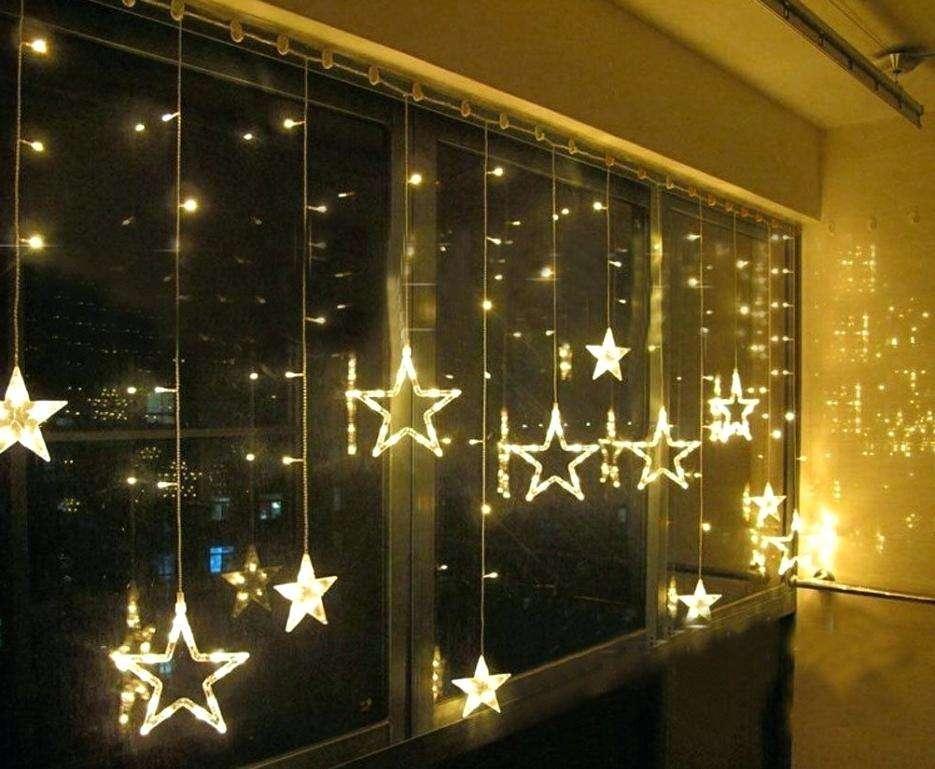 Unglaublich Schane Dekoration Lichterkette Weihnachten Fenster Led
