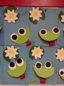Paper Frog Craft 1