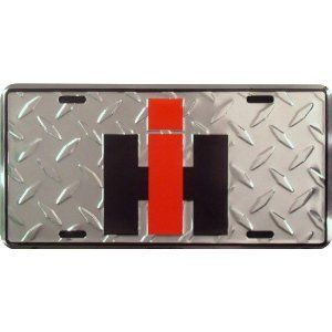 International Harvester License Plate Diamond Plate With Images