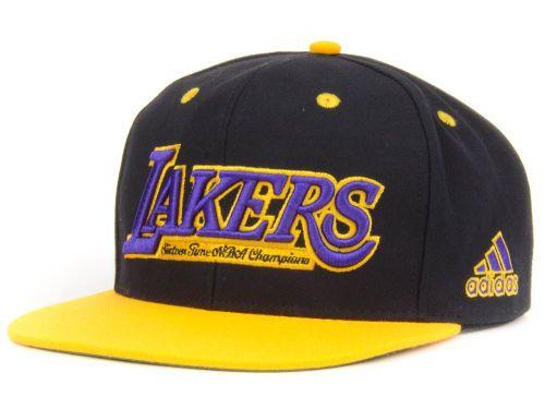 premium selection c7ddd c8806 Los Angeles Lakers adidas NBA Pride Jersey Snapback Cap Hats