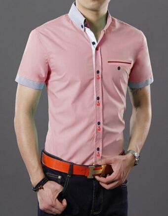 Moda Camisa Caballero Manga Corta Buscar Con Google Camisas Camisas De Moda Hombre Camisa Caballero